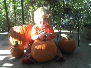 Pum'kin with pumpkins