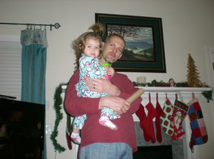 Christmas Morning with Dad