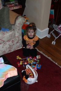 so tired... from getting all the candy...