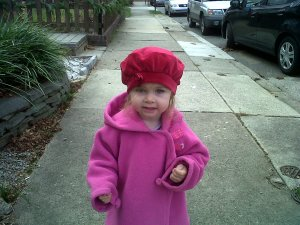 OMG - how cute is that hat?